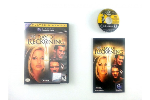 WWE Day of Reckoning game for Gamecube (Complete) | The ...