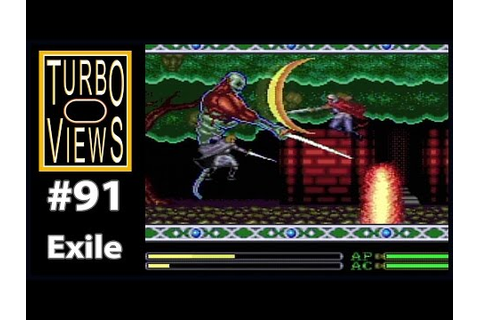 """Exile"" - Turbo Views #91 (TurboGrafx-16 / Duo game REVIEW ..."