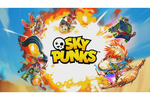 SKY PUNKS (OFFICIAL TRAILER) - New Game for iPhone, iPad ...