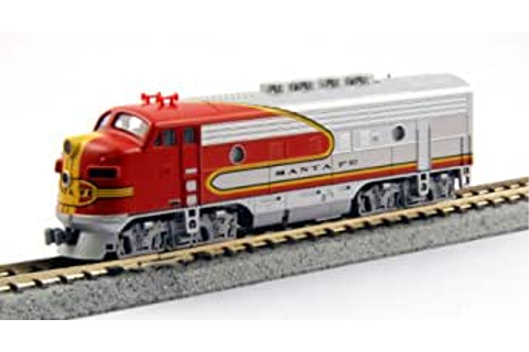 Amazon.com: Kato USA Model Train Products EMD F3A #21/#19 ...
