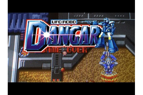 UFO Robo Dangar Arcade - YouTube