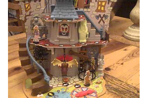Scooby Doo Haunted House Board Game - YouTube