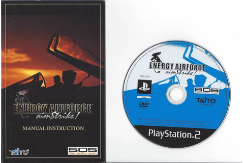 Energy Airforce Aim Strike for Playstation 2 PS 2 ...