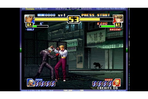 King of Fighters '99, The - Millennium Battle (set 1 ...
