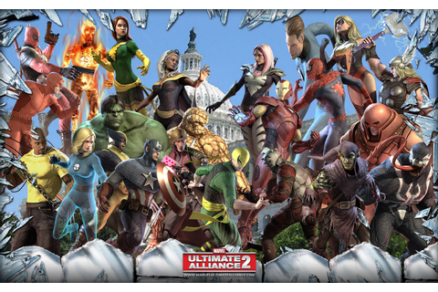 Marvel: Ultimate Alliance 2 - PS4 Review | Chalgyr's Game Room