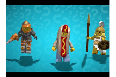 LEGO Minifigures - Online Game Trailer - YouTube