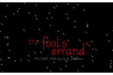 Download The Fool's Errand - My Abandonware