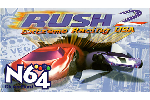 Rush 2 : Extreme Racing USA - Nintendo 64 Review - HD ...