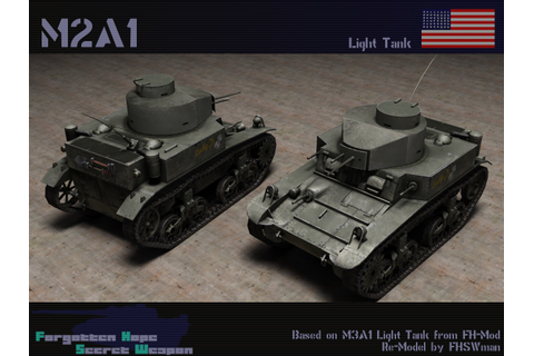 M2 Light Tank | Forgotten Hope Secret Weapon Wiki | Fandom ...