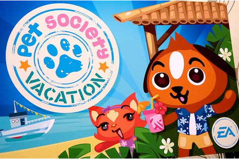 Pet Society: Vacation takes your Facebook pet on a ...
