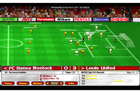 Ultimate Soccer Manager 98 Download Game | GameFabrique