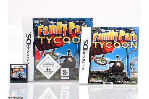 FAMILY PARK TYCOON OVP/Anl. ~Nintendo Ds / Dsi / 3Ds Spiel ...