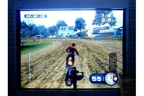 PS2 MX Superfly Featuring Ricky Carmichael 125cc Motocross ...