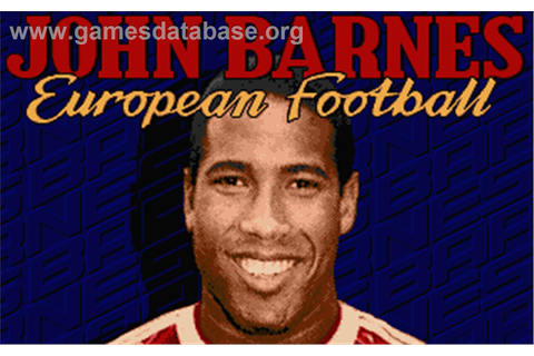 John Barnes' European Football - Atari ST - Games Database