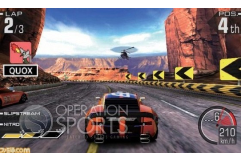 Ridge Racer 3D Review (3DS) - Operation Sports