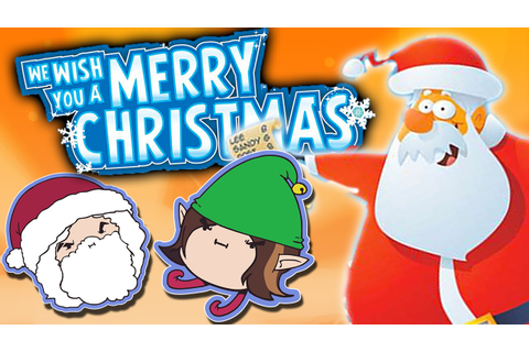 We Wish You A Merry Christmas - Game Grumps - YouTube