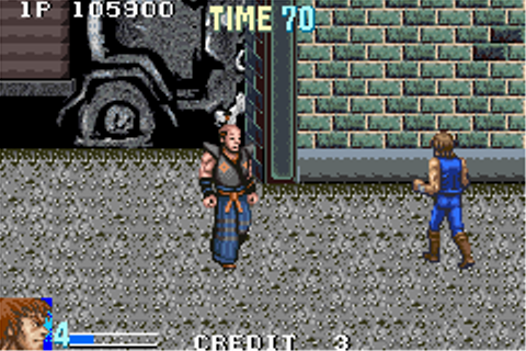 Double Dragon Advance Game Boy Advance Review – Games That ...