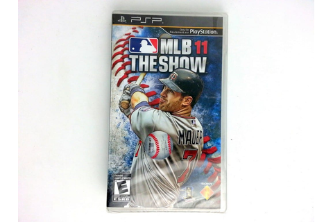 MLB 11: The Show game for PSP (New) | The Game Guy