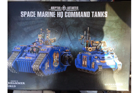 Space Marine HQ Tanks Archives - War Gamer