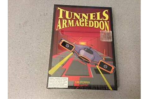 Tunnels of Armageddon California Dreams Computer Game ...