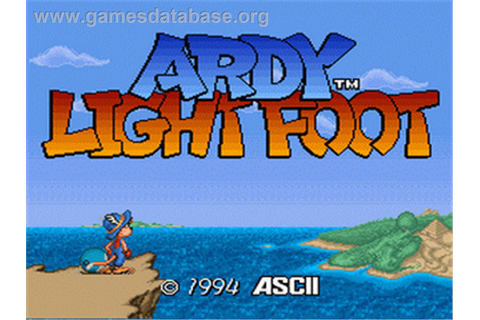 Ardy Lightfoot - Nintendo SNES - Games Database