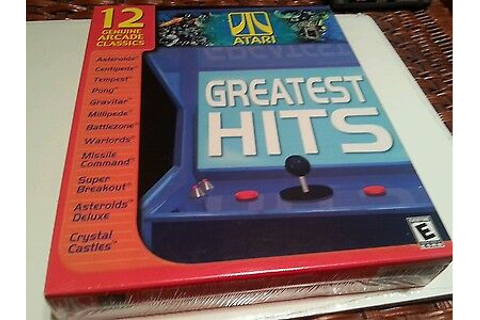 Atari greatest hits ds rom | Williams Arcade's Greatest ...
