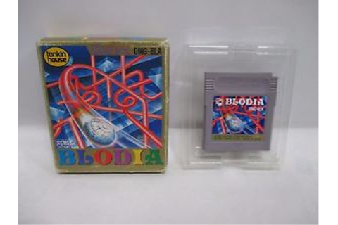 GB -- Blodia -- Box. Game Boy, JAPAN Game Nintendo. Clean ...
