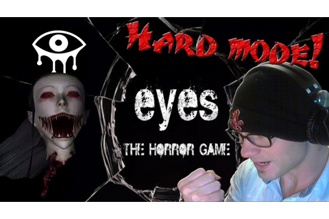 EYES the Horror Game - HARD MODE! (COMPLETED) - w/ Death ...