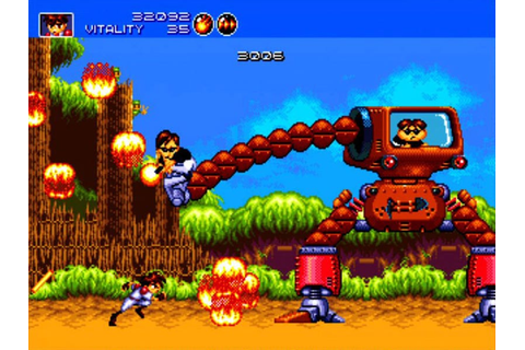 Sega Vintage Collection 2 Brings GunStar Heroes To XBLA, PSN