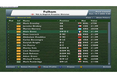Football Manager 2006 (Xbox) | Sports Interactive