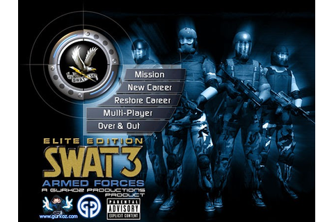 Swat 3 Close Quarters Battle Game Download For PC ...