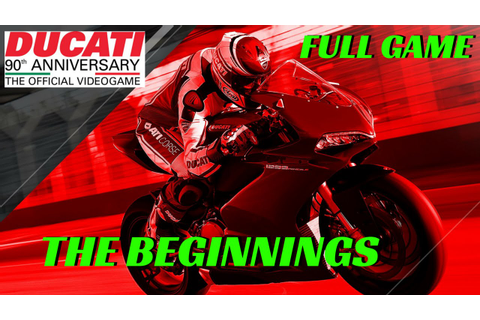 DUCATI 90th Anniversary Part 1 - the beginnings - Full ...