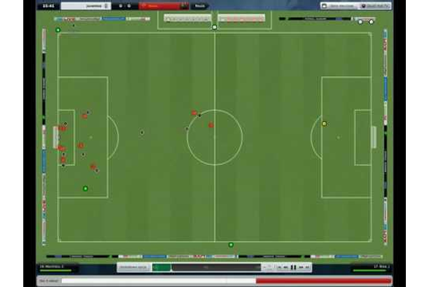 Football Manager 2009 gameplay pc - YouTube