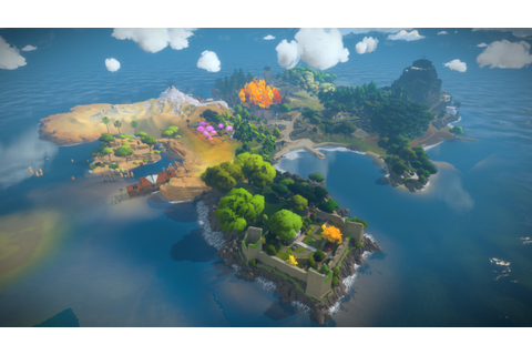 The Witness PS4 Game Screenshots - PS4 Home
