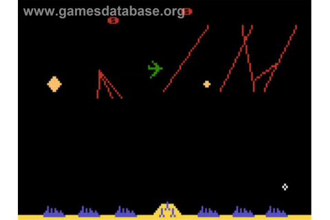 Missile Command - Atari 5200 - Games Database