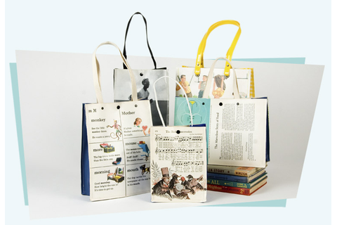 All About Abbie...: Mugwump - Upcycled Bags - Books and ...