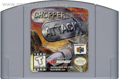 Chopper Attack - Nintendo N64 - Games Database
