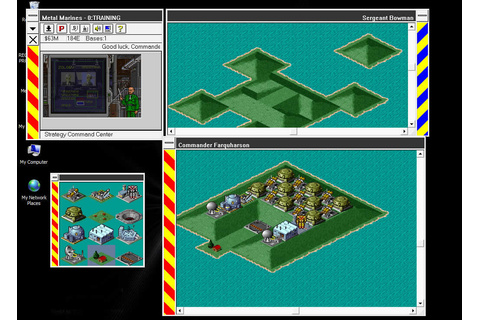 Metal Marines strategy for Windows 3.x (1993 ...