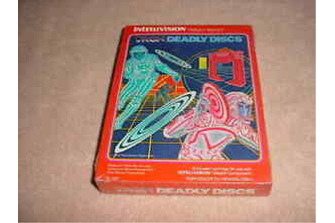 TRON DEADLY DISCS - Mattel Intellivision Video Game System ...