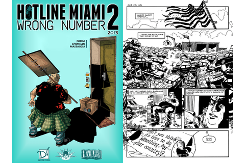 Hotline Miami 2: Wrong Number Digital Comic Series Sets ...