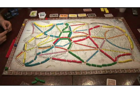 Ticket to Ride Game Review - YouTube
