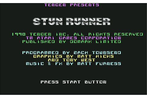 Download S.T.U.N. Runner - My Abandonware