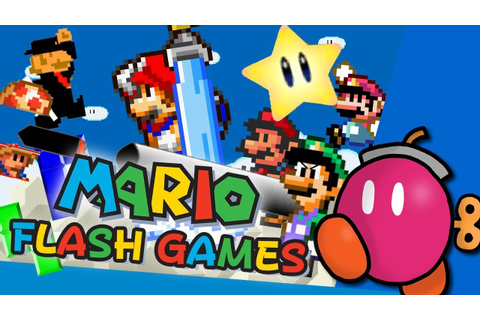 Old Mario Flash Games - YouTube