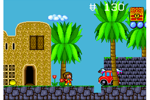 Play Alex Kidd in the Enchanted Castle Sega Genesis online ...