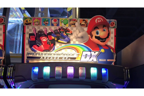 ARCADE Mario Kart Arcade GP DX is AWESOME!!! - YouTube