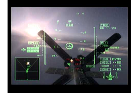 Ace Combat 5 PS2 Gameplay Final Mission The Unsung War ...