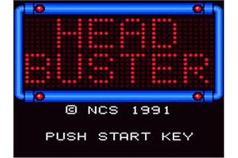 Head Buster - Sega Game Gear - Games Database