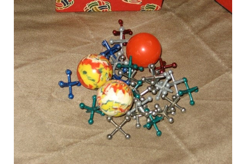 Vintage BALL & JACKS Game by ShaysVintageFinds on Etsy