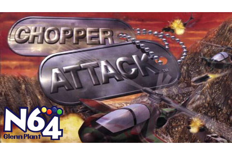 Chopper Attack - Nintendo 64 Review - HD - YouTube