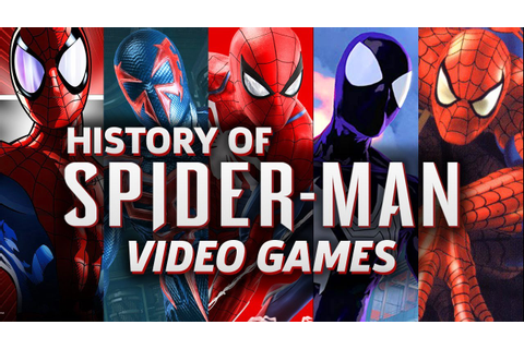 The History of Spider-Man Video Games - YouTube